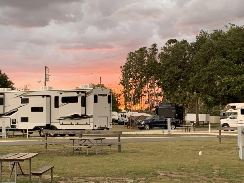 KOA Orlando Campsite Spots