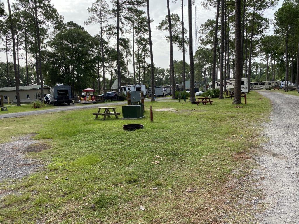 KOA campsite kingsland