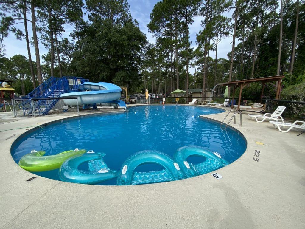 KOA Campground Pool Amenities
