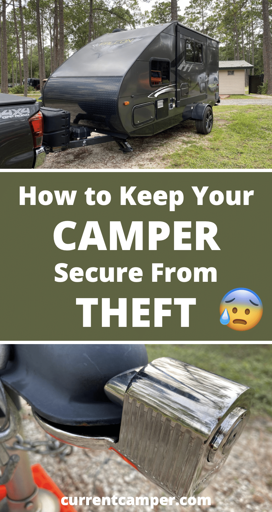 camper camping tips security rv road trip
