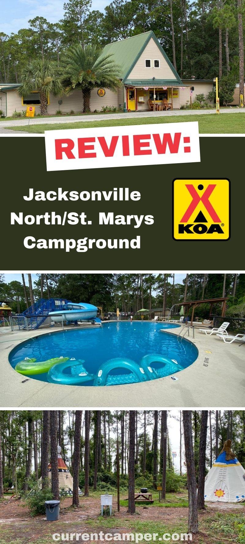 Jacksonville camping #camping #florida camper tips #koa campground #travel #rv #rving rv tips #koa