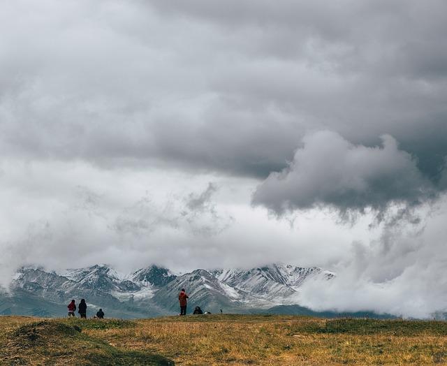 Bad weather hiking trails