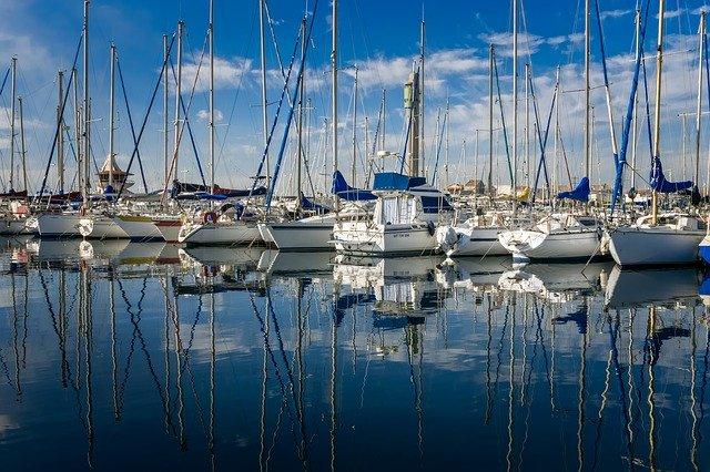 marina boat harbor yacht