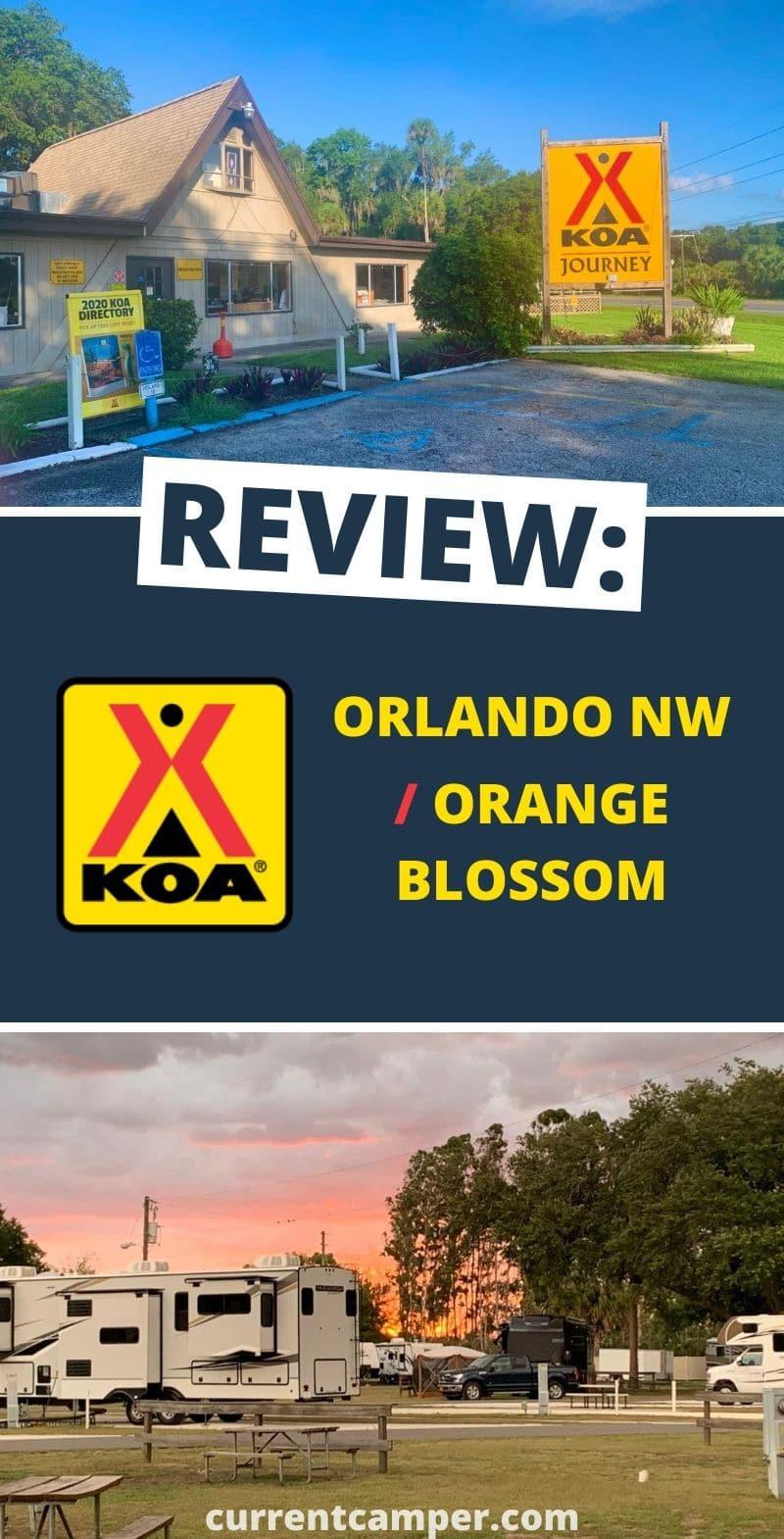 koa review #koa camping tips #orlando Orlando campground #camper camper #rv #rving #travel Florida