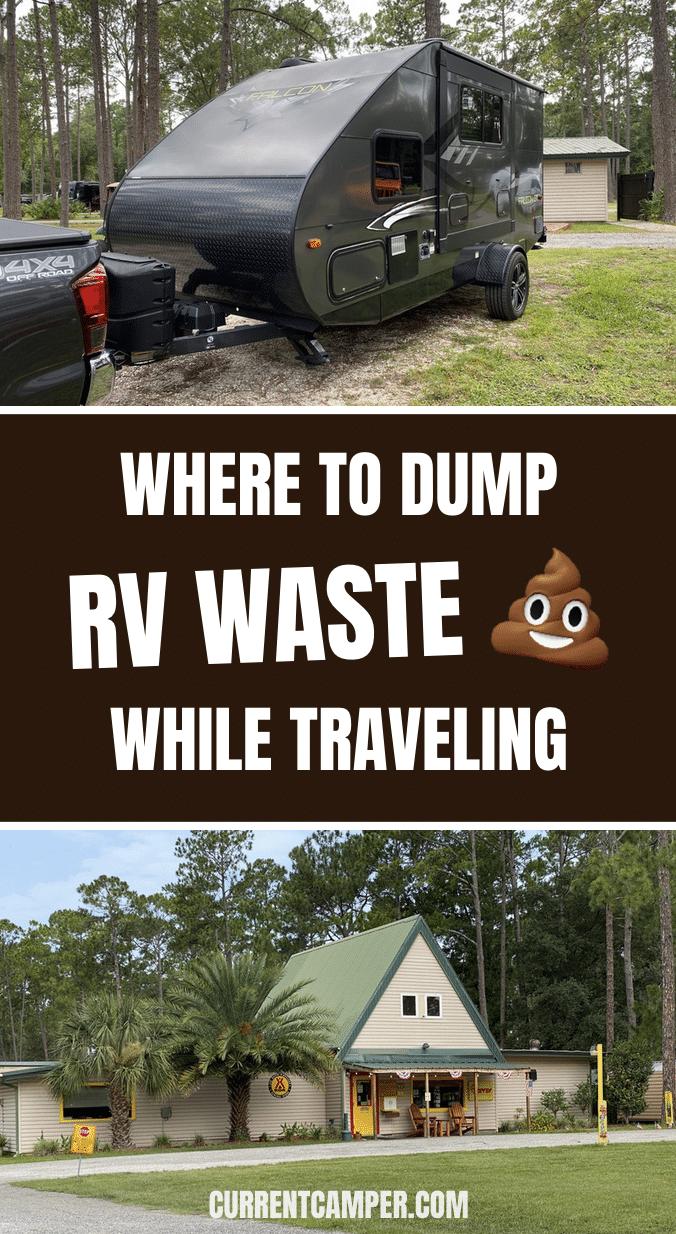 Where To Dump RV Waste