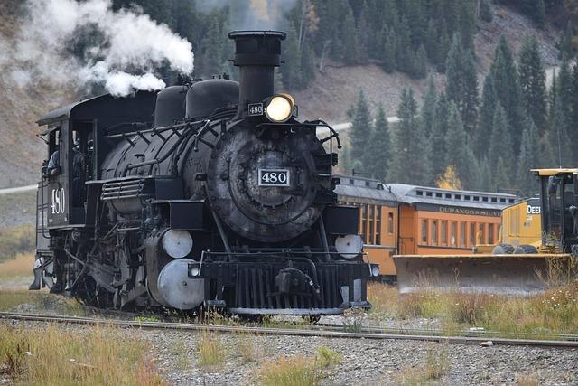 Durango Colorado Train Locomotive