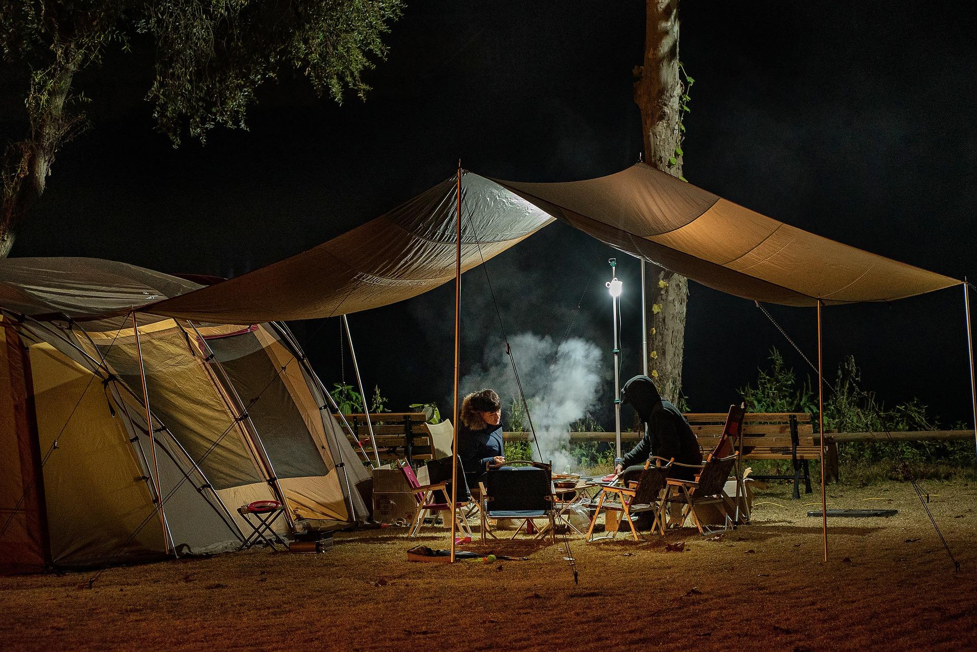 car camping tent pixabay