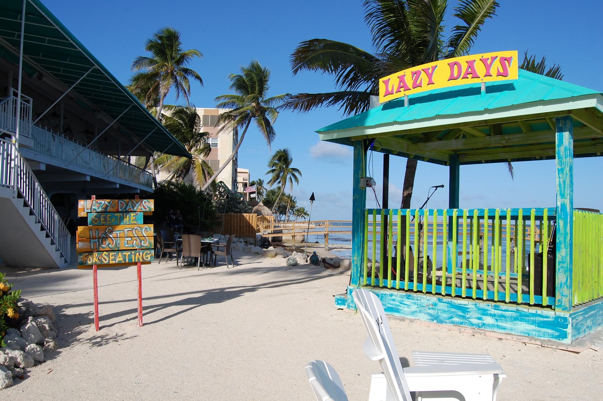 lazy days beach islamorada