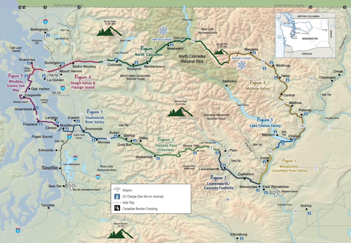cascade loop road trip oregon pacific northwest