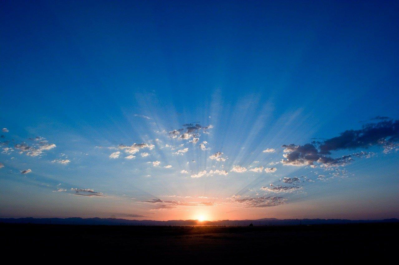 sunrise sunshine pixabay