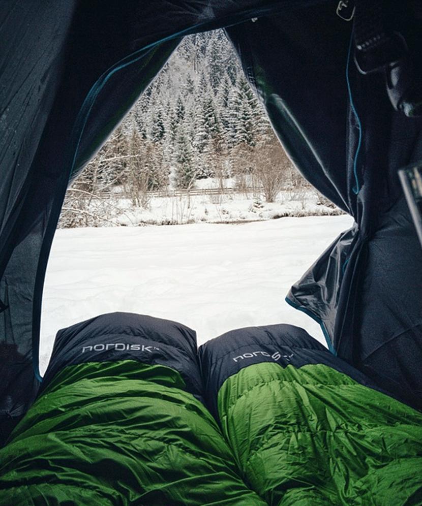 sleeping bags tent