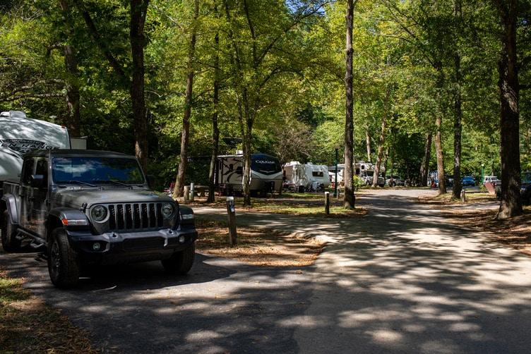 gulpha gorge campground hot springs national park