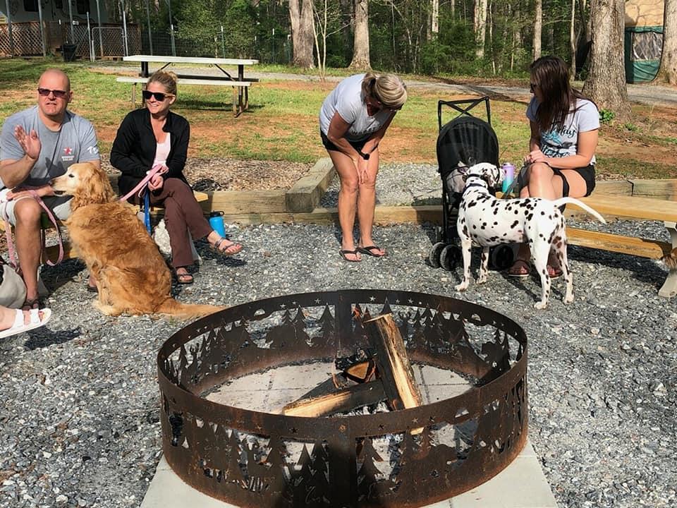 4Paws Kingdom Campground dogs