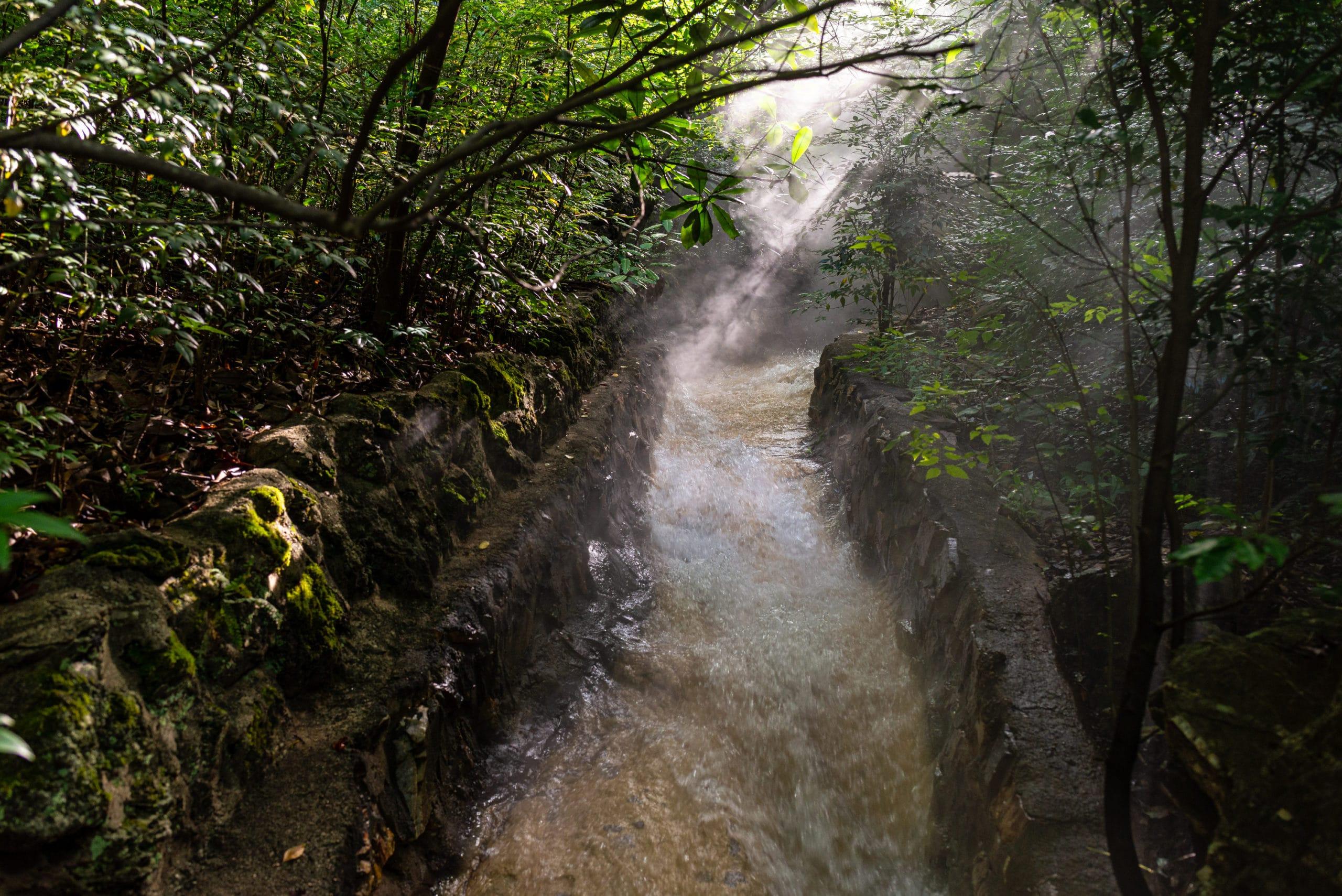 thermal water hot springs national park arkansas
