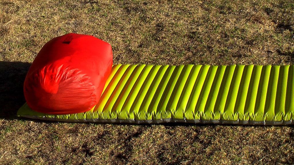 air sleeping pad camping hiking backpacking