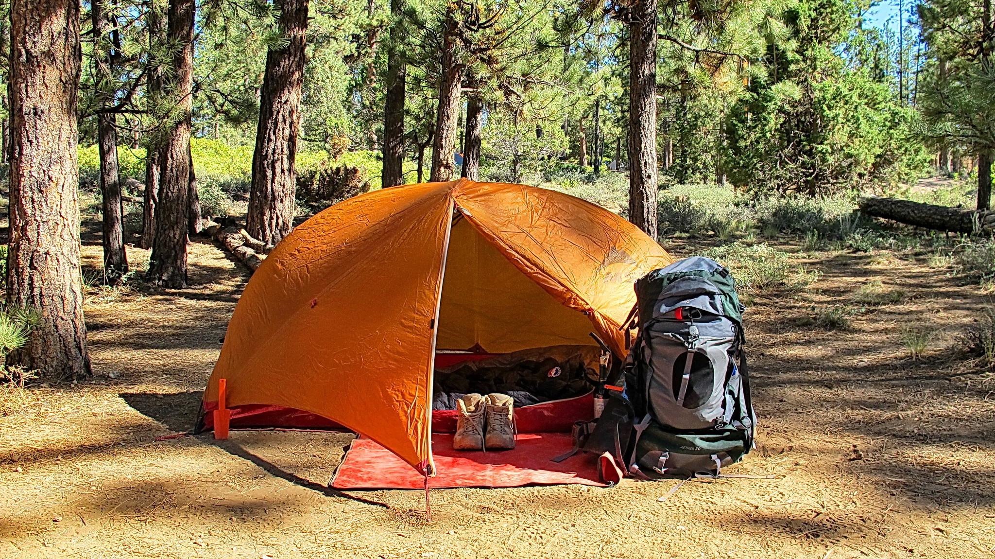 tent sleeping bag pad