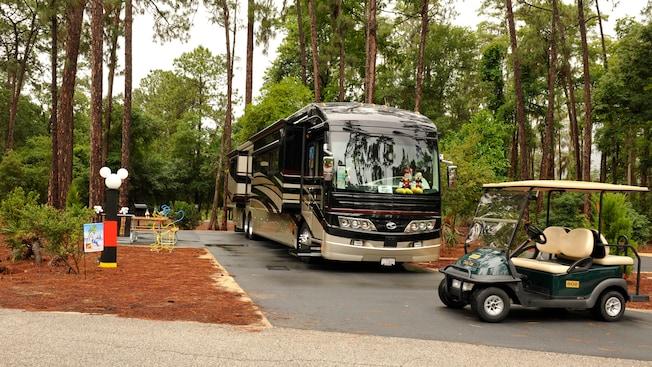 campsite disney campground