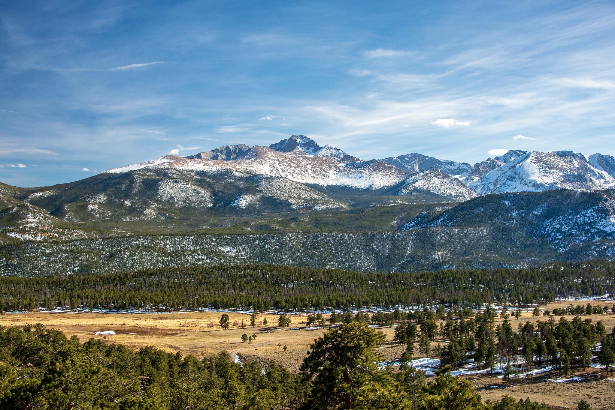 longs peak rocky mountain national park
