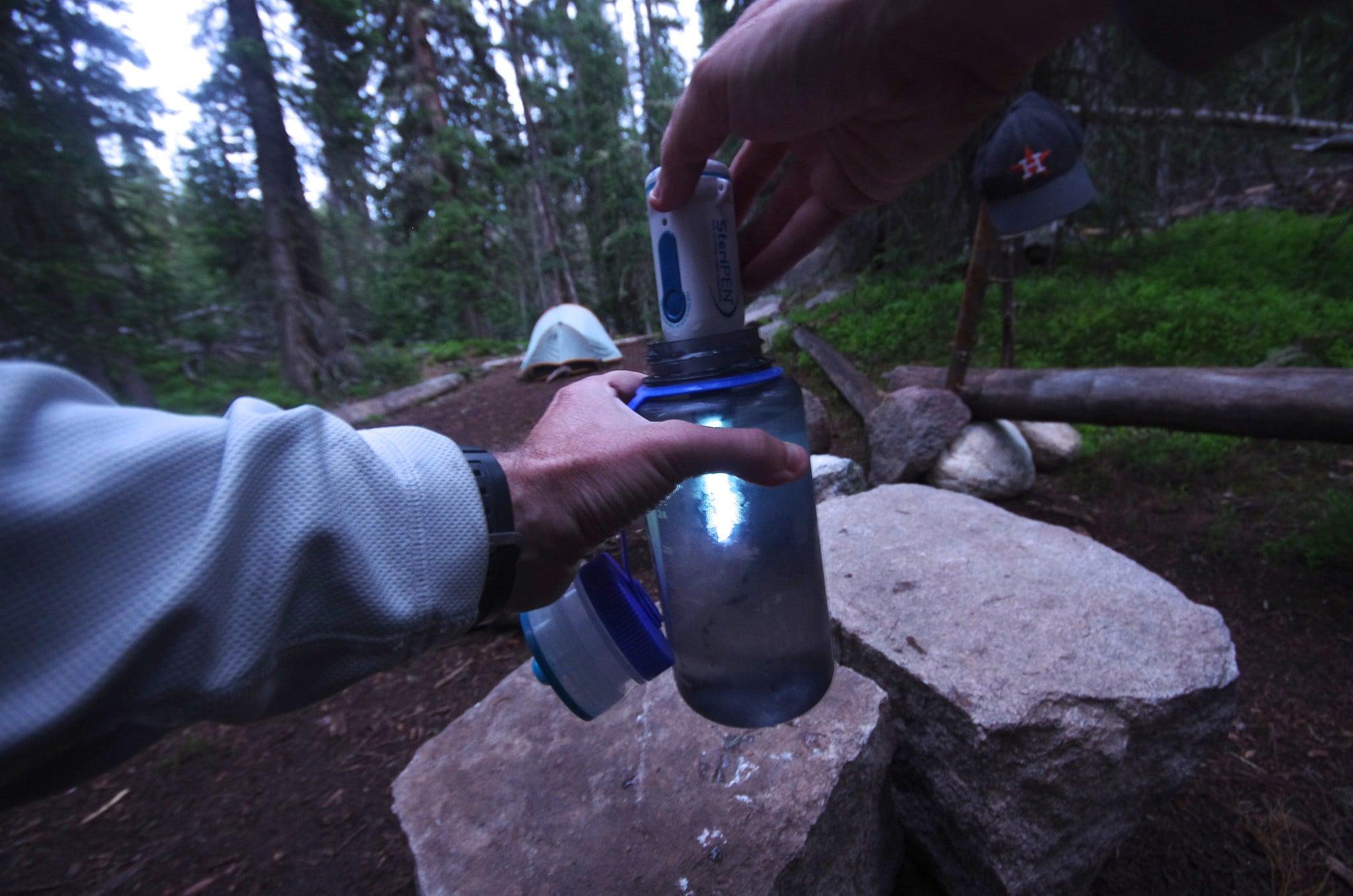 UV light water purifier